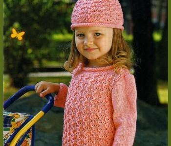 Оранжевая шапочка и платьице