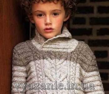 Пуловер и шапочка для мальчика