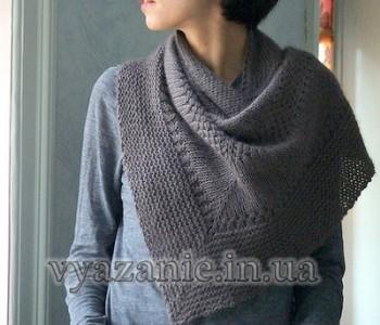 Текстурнaя шаль