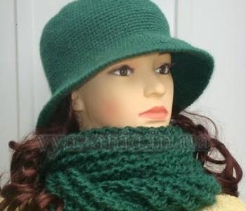 Комплект «Мадам» (шляпа и снуд)