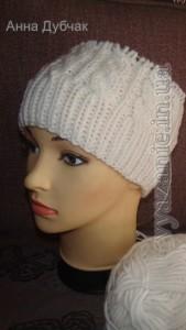 Вязание с анной дубчак шапки