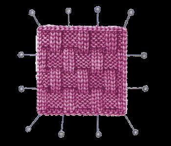 Основы вязания: вяжем образец для расчета петель