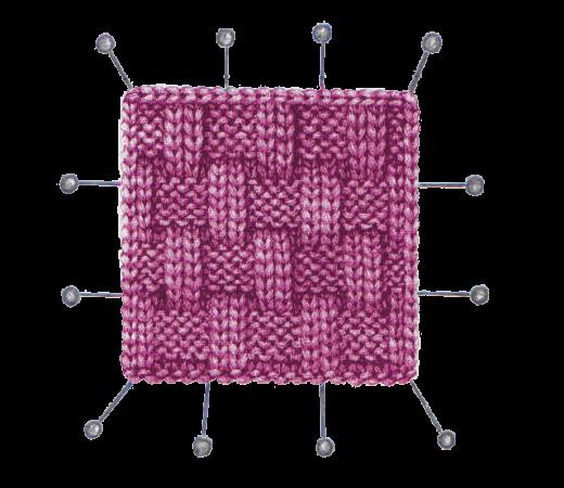 Рассчет образца в вязании