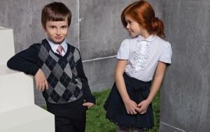 Вязаная школьная форма