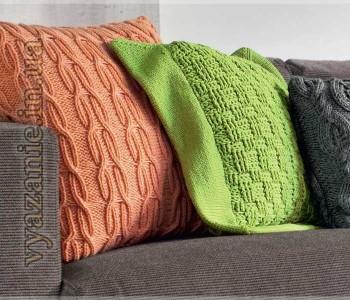 Подушка с широкой каймой