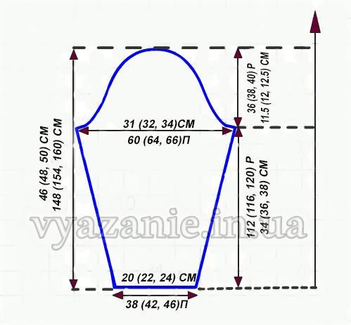 Схема Свитера
