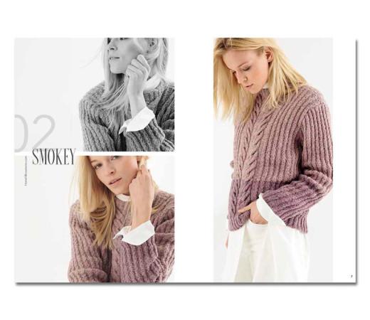 Пуловер из пряжи Lana Grossa спицами