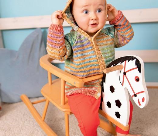 Детская кафта с капюшоном