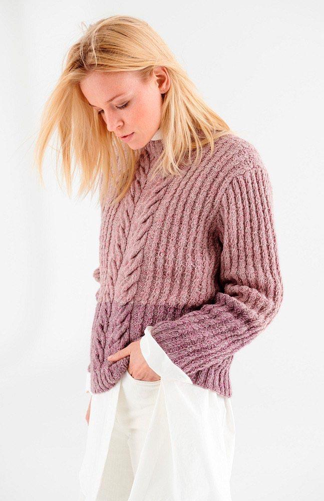 Lana Grossa пуловер спицами
