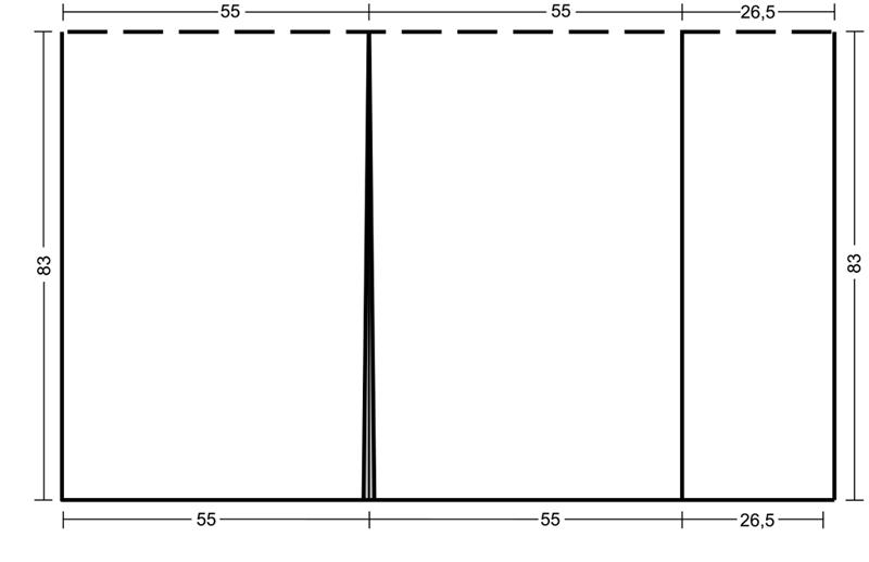 Схема вязаного пончо
